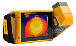 Image of Fluke Thermal Infrared Cameras Make Troubleshooting Cool